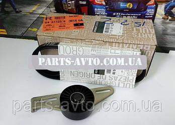 Набір ременя генератора (ремінь + ролики) Renault Sandero з Р/У без А/С 1.4 1.6 MPI (Original 7701477522)