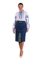 "Вишита жіноча блуза ""Любослава"" розміри в наявності, фото 1"