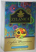 Чай черный ZYLANICA Тропические фрукты FBOP,100 гр.