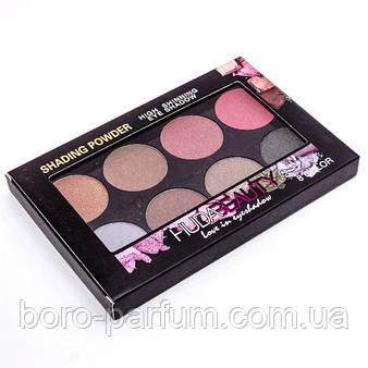 Тени Huda Beauty Love in eyeshadow shading powder 8