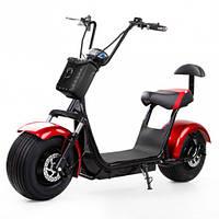 Электробайк Citycoco Harley - красный