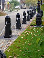 Столбик антипарковочный Октаедр (цвет черный)