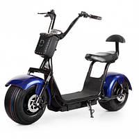Электробайк Citycoco Harley - синий