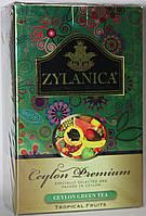 Зеленый чай ZYLANICA тропические фрукты GP1 100 гр.