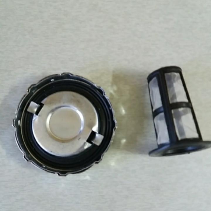 Крышка бака с сеткой под потайную горловину R190