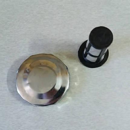 Крышка бака с сеткой под потайную горловину R190, фото 2