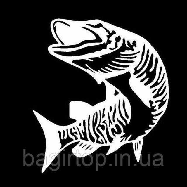 Виниловая наклейка -рыба 2