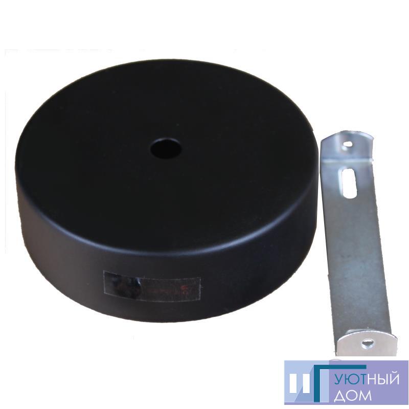 Настінне кріплення чорне для трекового LED світильника 15W