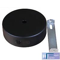 Настенное крепление черное для трекового LED светильника 20/30W