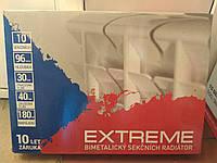 """Радиатор (30 атм) Чехия 500/96 биметалл """"Extreme"""" Экстрим Сушилка для белья - в подарок"""