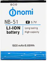 Аккумулятор Nomi i500 Sprint / NB-51 (1800 mAh) Original