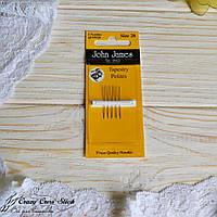 Набор коротких гобеленовых игл John James №28 ( Tapestry Petite)