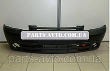 Бампер передний под ПТФ Renault Kangoo (Original 7701206587)