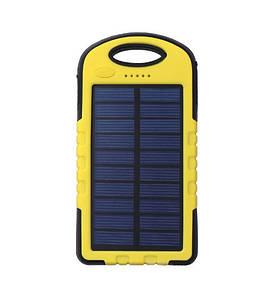 Power Bank Solar, 20000 mAh, универсальный аккумулятор с солнечной панелью и LED лампой(ВнешАкк_PB-20000S)