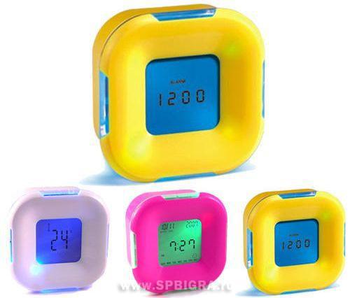 Годинник-Будильник з підсвічуванням