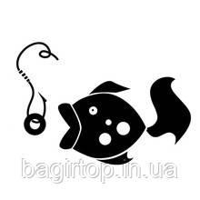 Виниловая наклейка - рыба 10
