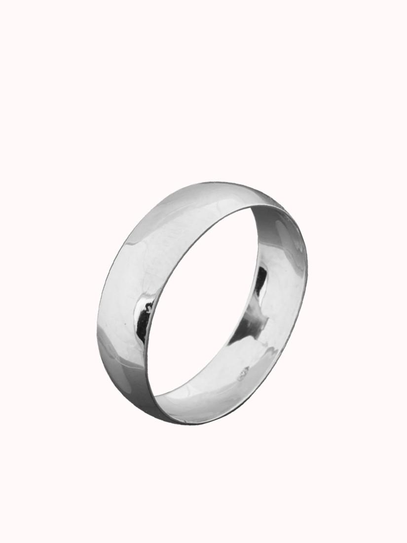 Обручальное кольцо класическое