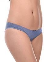 Хлопковые трусики для беременных, серо-голубые 517, фото 1