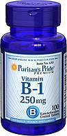 Тиамин, Витамин B-1, Puritan's Pride Vitamin B-1 250 mg 100 tablets