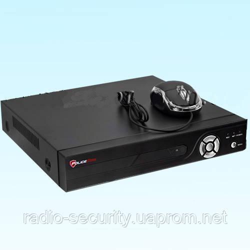 IP відеореєстратор PoliceCam NVR-2104-P4