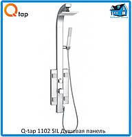 Душевая панель Q-tap 1102 SIL