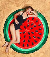 Пляжна підстилка Кавун 143 см / опт