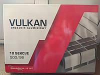 """Радиатор (16 атм) Польша алюминий 500/96 Вулкан """"VULKAN"""" Сушилка для белья - в подарок"""