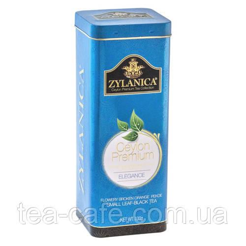 Чай черный ZYLANICA Batik Design Elegance FBOP 100 гр. ж/б