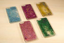 Пластиковый переливающийся чехол для iPhone 6 / 6S (4.7 Дюйма)  (Цвета разные)