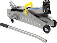 Домкрат автомобильный подкатной 2т для гаража Vorel 80120
