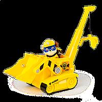 Cпасательный автомобиль с фигуркой Крепыша в новой экипировке Paw Patrol (SM16601/0605)