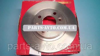 Комплект тормозных вентилируемых дисков Renault Kangoo (Motrio 8671005976)