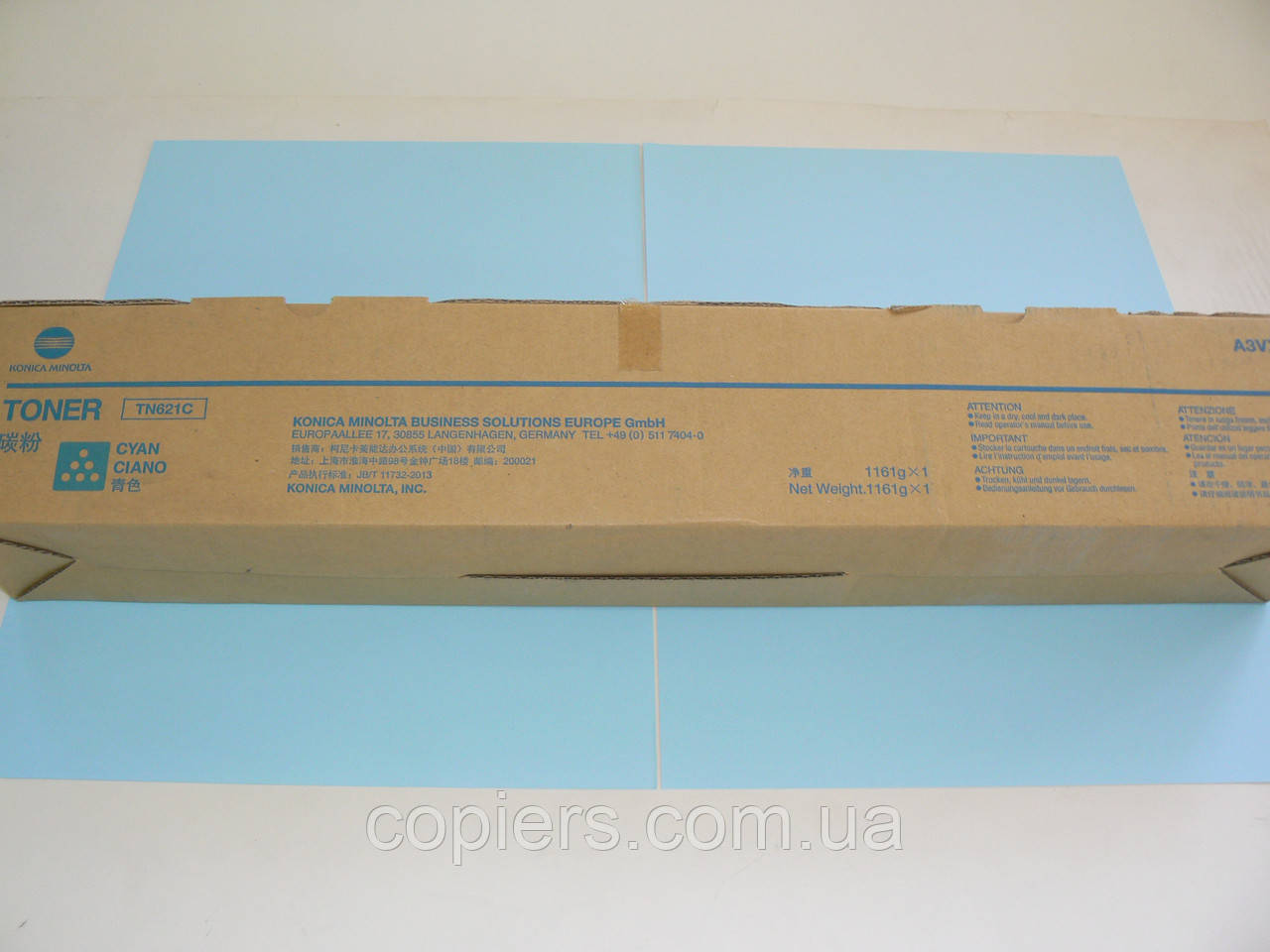 Тонер TN621 C Konica Minolta Bizhub Press C71hc, оригинал