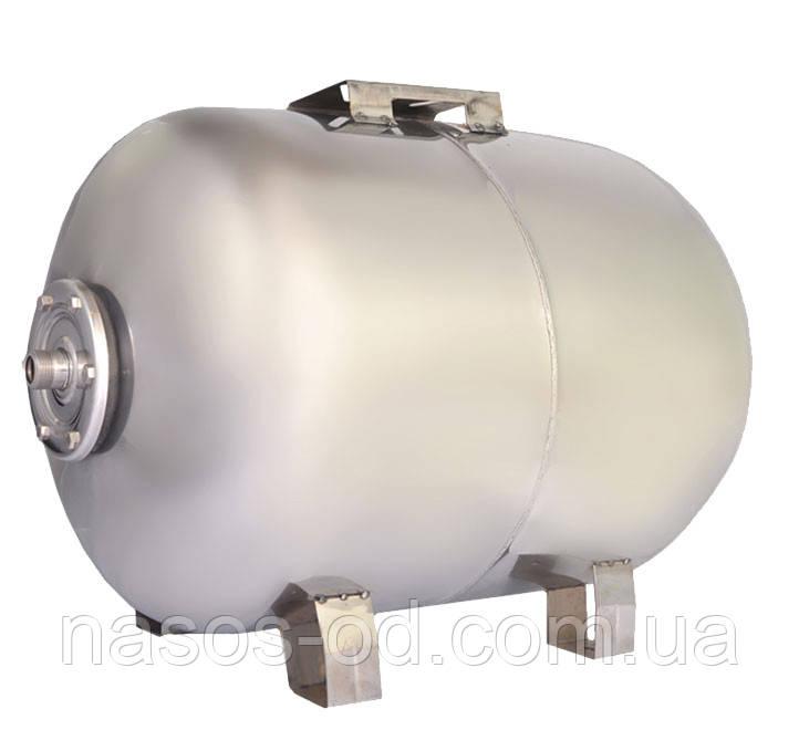 Гидроаккумулятор для воды Euroaqua горизонтальный 100л (нерж, разборной)