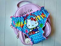 "Детские плавки ""Hello Kitty"" (голубые)"
