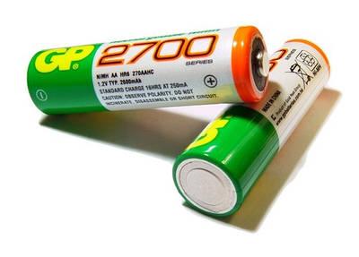 Элементы питания (батарейки, аккумуляторы)