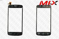 Тачскрин Prestigio MultiPhone 5504 Duo Черный