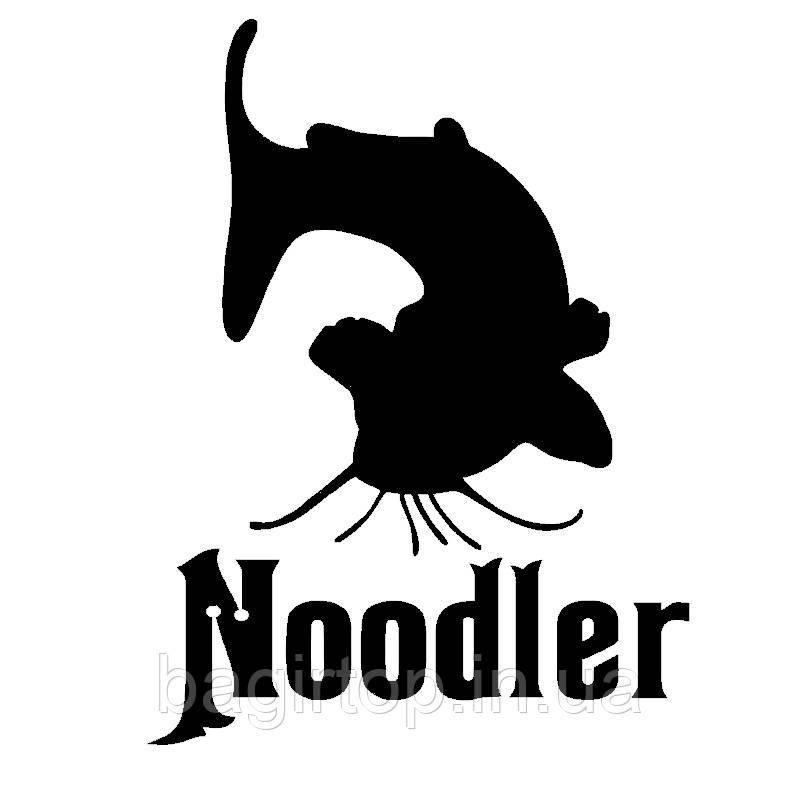 Виниловая наклейка - noodler