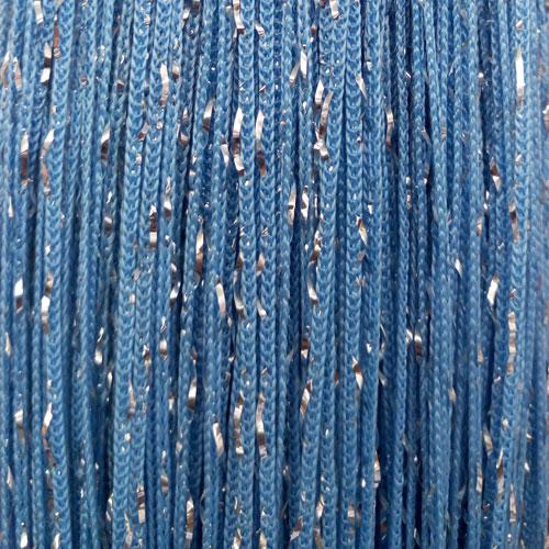 Шторы нити Голубые Серебро / Дождь №11