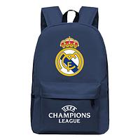 Рюкзак спортивный FC Real Madrid темно-синий, фото 1