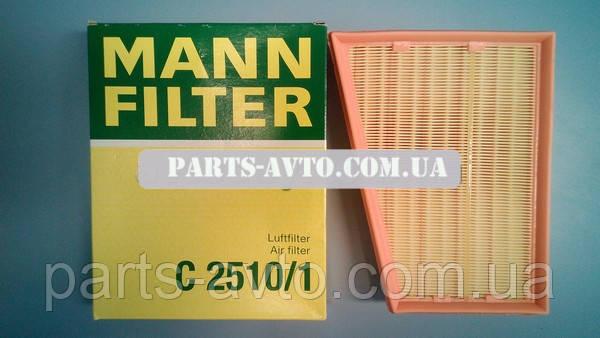 Повітряний фільтр Renault Kangoo 2 (MANN C2510/1)