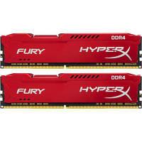Модуль памяти для компьютера DDR4 32GB (2x16GB) 2666 MHz HyperX FURY Red Kingston (HX426C16FRK2/32)