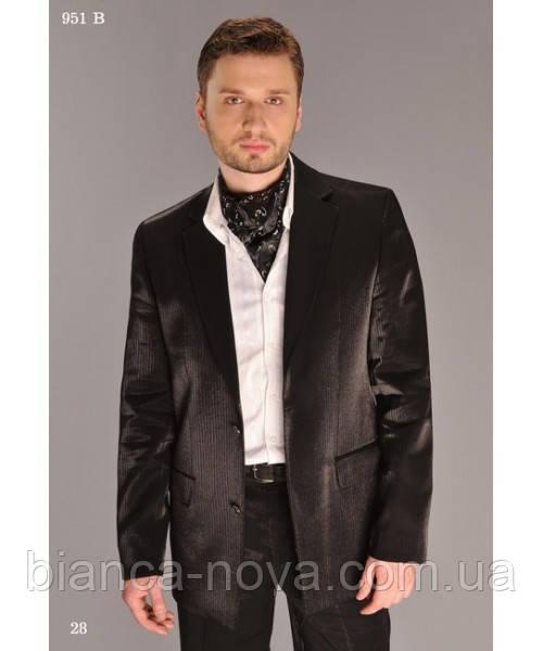 Костюм мужской West fashion (черный,серый)