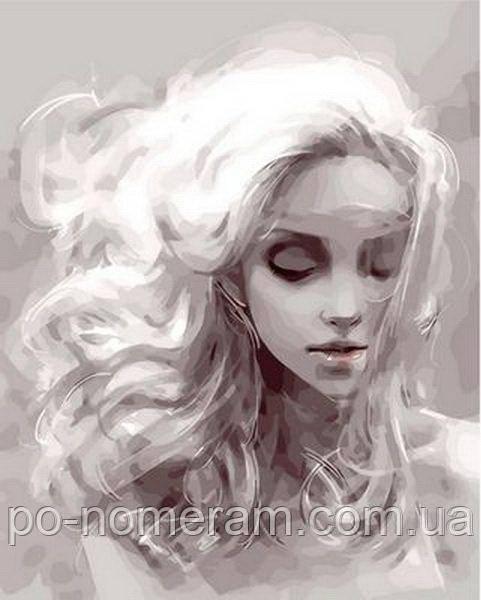 Картина по номерам Девушка из снов