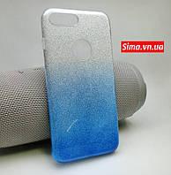 "Чехол силикон ""Glitter"" для Apple iPhone 7 Plus +"