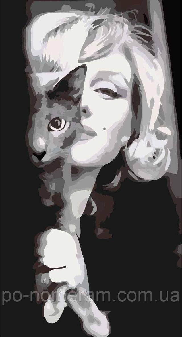 Картина-раскраска Изящная Мерлин