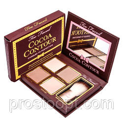 Палитра для контуринга лица  Too Faced Cocoa Contour