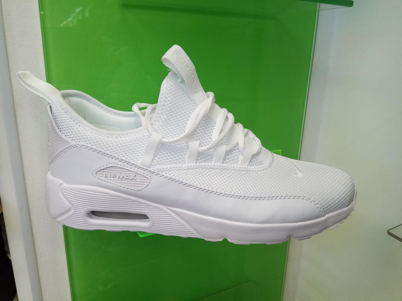 afe50db77f6143 Мужские кроссовки Nike Air Max 90 EZ White - Интернет магазин  krossovkiweb.kiev.ua