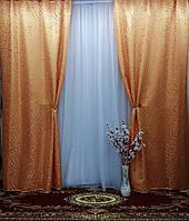 """Комплект штор  """"Николь"""" из жаккардовой ткани, фото 1"""