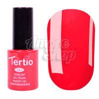 Гель-лак Tertio №045 (светлый красный, эмаль), 10 мл